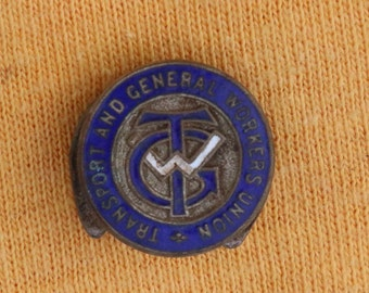 TGWU badge
