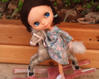 Rocking Horse by RainbowDaisies for Blythe Dolls