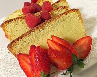 Southern Crunchy Top Pound Cake