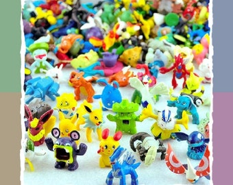Pokemon Mini Figures,Pokemon Toys,Cake Topper,Pokemon Minifigures,Ash,Pikachu,Squirtle,Bulbasaur,Charmander,Mobile phone Go Charms,Keyring