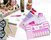 Sailor Moon Inspired Weekly Kit | Fits Erin Condren, Plum Paper, Filofax, Happy Planner, etc.