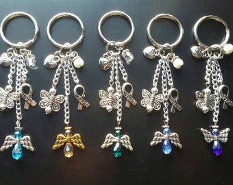 Handmade Baby Keychains • Child Loss • Miscarriage • PCOS