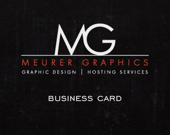 Custom Business Card Package