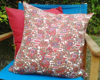 70's Throw Pillow cover