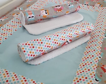Cover mattress with owls