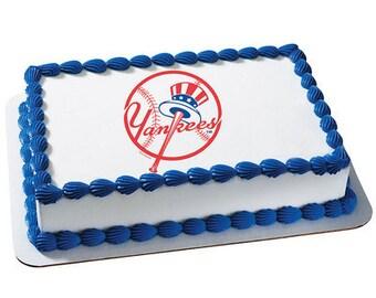 MLB New York Yankees Edible Cake / Cupcake Topper