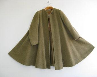 50s-60s Vintage Hermes Paris Swing Coat - A rare find