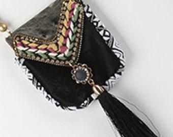 Native American Leather Medicine Bag