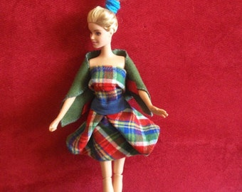 Handmade clothes for Barbie dolls - 3 outfits