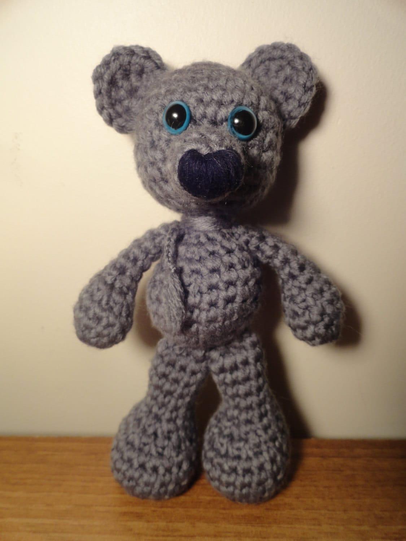 Amigurumi Bigfoot Bear : Crochet bigfoot bear