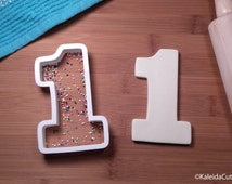 Number Cookie Cutters. Number One Cookie. 3D Printed. Number Cookies. Birthday Cookies. Girl Birthday Cookie Cutter. Baking Gifts.