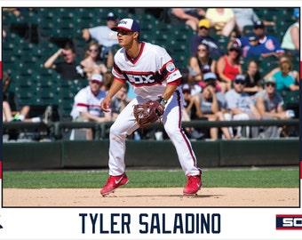 Tyler Saladino Chicago White Sox Canvas Wrap