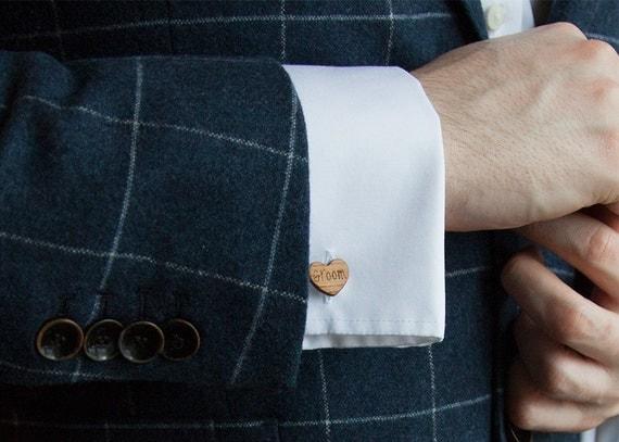 Sentimental Wedding Gift For Groom : Romantic Wedding Gift, Gift for Groom, Groom Cufflinks, Wedding ...
