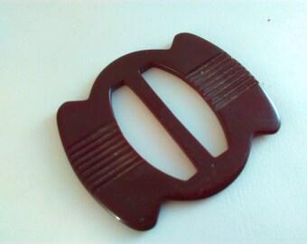 5.2x4.5cm, Vintage, buckle, brown buckle, art deco buckle, art deco, buckle, lucite buckle, belt buckle, vintage belt buckle, vintage buckle