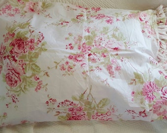Rachel Ashwell Fabric Rose Chintz Handcrafted Pillowcases