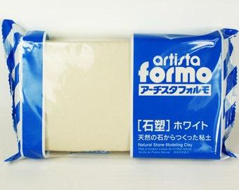 Padico Artista Formo White Stone Clay Japan (500 g) Figurines / Sculpture / Dolls
