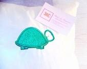 SALE.........glitter turtle cushion turtle cushion mini scatter cushion new home gift scatter cushion