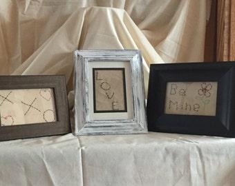 Primitive Framed Valentine expressions