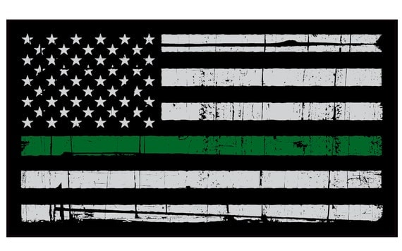 thin Green Line Decal - American Flag - Support Border Patrol Lives ...: https://www.etsy.com/listing/270411388/thin-green-line-decal...