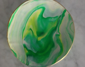 Handmade Marbled Jewellery Bowl