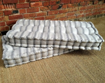 French Mattress Day Bed Cushion, Custom Made, Window Seat, Bench Pad, Floor Pillow- PLEASE NOTE- Full Price on quotation