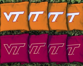 Virginia Tech Hokies Cornhole Bag Set
