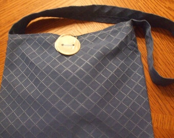 shoulder bag handmade cloth purse purse with inside pockets