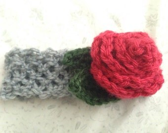Custom Flower Headband