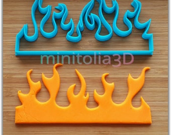 Flame Cookie Cutter, Cake Decorating
