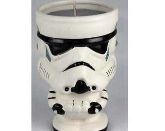 Star Wars Storm Trooper goblet soy candle