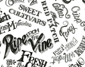 Windham Fabrics - Locally Grown 41355-2  44-inch Wide Cotton Fabric Yardage **Half Yard Cuts**