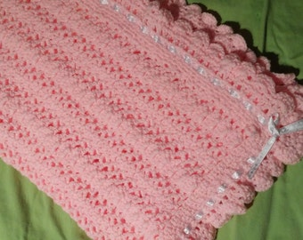 Beautiful Pink Baby Girl Afghan
