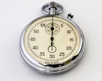 Vintage Russian Soviet Union stopwatch