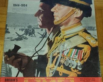 PICTURE POST June   1954 UK vintage magazine