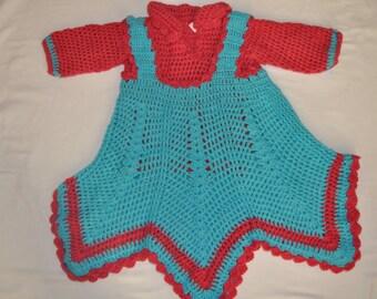 100% Handmade New Croatia Sweater/Dress/Skirt/Pullover/Poncho