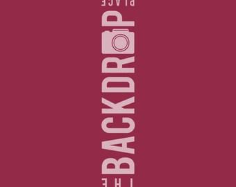 Large Photography Backdrop - Crimson - 5'x5', 5'x6', 5'x7', 5'x10'