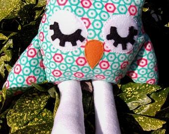 Woodland Friend, Woodland Stuffed Animal, Ophelia the Owl, Nursery Decor, Woodland Nursery
