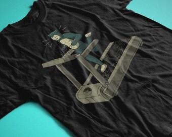 Running Goals - Funny T Shirt inspired by Snorlax from Pokemon shirt! Original 150 Nintendo Shirt / Fitness shirt Running shirt