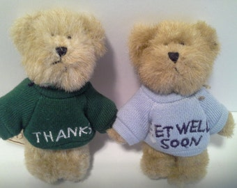 Thank you and get well boyds bears