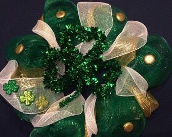 Classic St. Patrick's Day Wreath