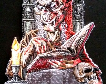 CRYPT KEEPER - Embroidered PATCH - Tales from the Crypt - Horror - Cryptkeeper