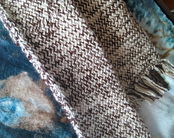 Double-Layered Loom Knit Scarf