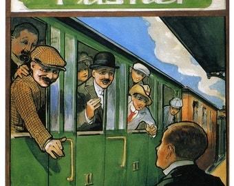 Vintage Carlsberg Lager Advertising Poster Print