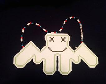 Marshmello Perler Necklace