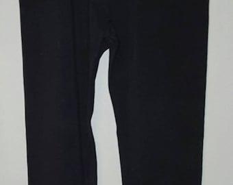 Size 8T - Black ruffle leggings