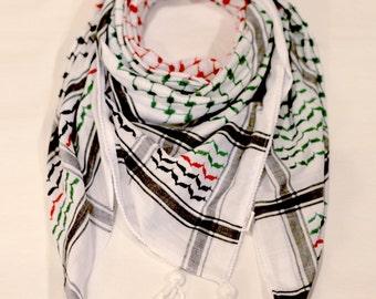 Hirbawi Original Palestinian Flag Kufiya