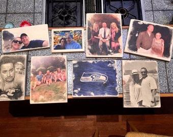 Pine Wood Transferred Photos
