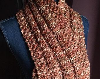Knit Scarf, Handmade, Sahara