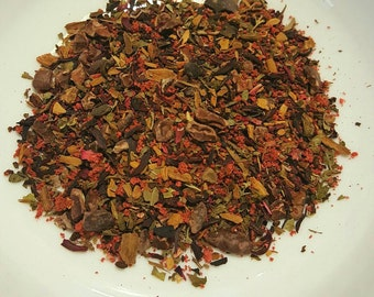 Night Magick - Loose Leaf Tea Blend with Strawberries and Cacao