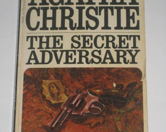 The Secret Adversary by Agatha Christie mystery paperback classic 1970